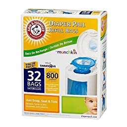 Arm & Hammer Diaper Pail Refills - 32 Pack