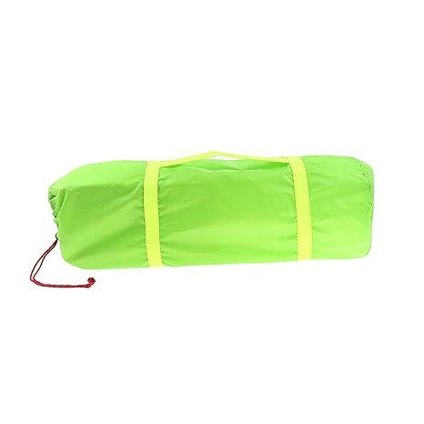 perfk Saco de Dormir Tienda de Campaña Poliéster Saco de Compresión Duradero Ligero Resistente Al Agua
