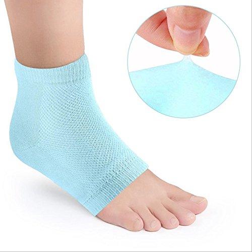 Buy Amariver 3 Paris Blue Moisturizing Gel Socks Open Toe Feet