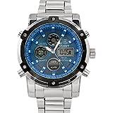 Men's Fashion Casual Quartz Watch Business...
