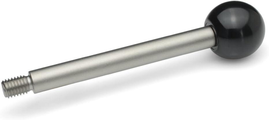 10 Silver 2/Pieces 100 Ganter Standard Silver Elements GN 310 A Zbgn Grab Rails GN 310-10-125-A-NI