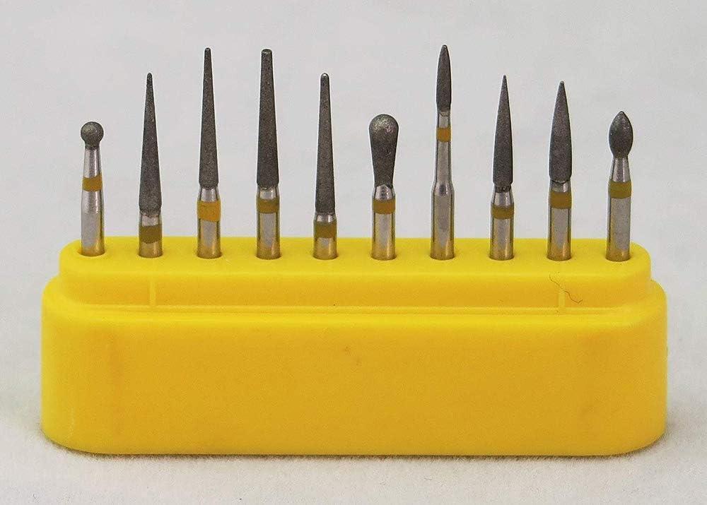 Diamond Burs FG 1.60mm for High Speed Rotary Instrument Kit