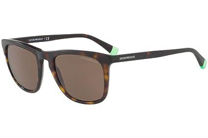 Image Unavailable. Image not available for. Color  Emporio Armani EA4105  Sunglasses Matte Havana w Brown Lens 508973 EA 4105 844d36a809