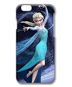 iCustomonline Frozen Ice Princess Personalized 3D Back Case for iPhone 6 Plus( 5.5 inch)