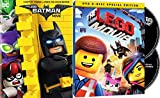 The Wild World Of Lego Bricks: The Lego Batman Movie + The Lego Movie Original Theatrical 2 Disc Special Edition Double Feature Bundle