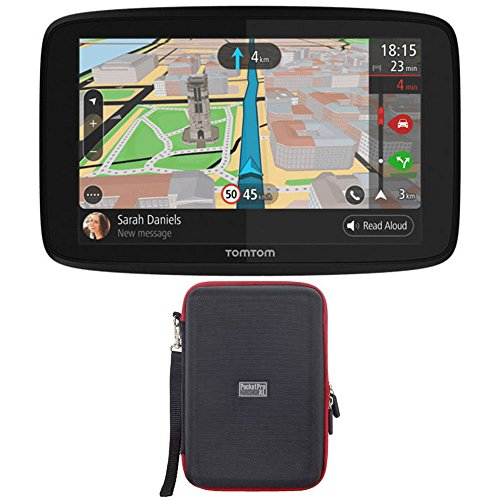 TomTom GO 620 GPS 6'' Touch Screen (US-CAN-MEX) with Hardshell Case by TomTom