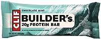 Clif Bar Builder Bar, Chocolate Mint, 2,4-Unzen-Barren, 12 Count