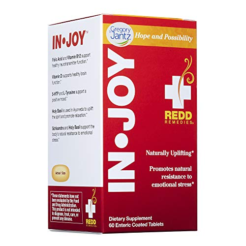Redd Remedies - in Joy, Supports Mood and Emotional Strength, 60 Count