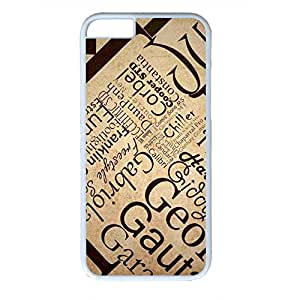 Diy IPhone 6 Skin Unbelievable 0054651_keywords case for iphone 6 pc material white iPhone 6 4.7 Case