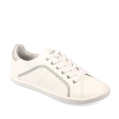 toujours populaire chaussures élégantes moitié prix Merry Scott Baskets Blanc Femme Chaussea: Amazon.fr ...