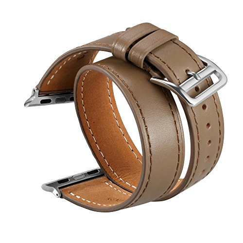 V Moro Double Leather iWatch Inches product image
