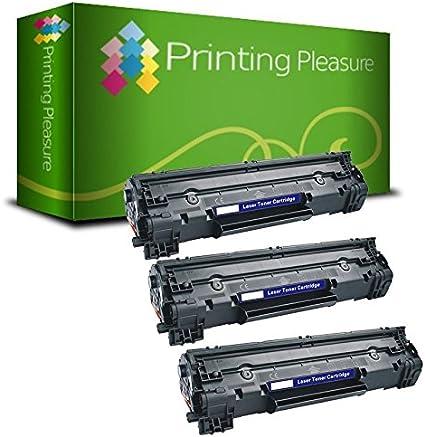 Printing Pleasure 3 Toner Kompatibel Zu Cf283a 83a Für Hp Laserjet Pro Mfp M125a M125nw M125rnw M126a M127fn M127fw M128fn M128fw M225dn M225dw M201dw M201n M202dw M202n Schwarz Hohe Kapazität Amazon De