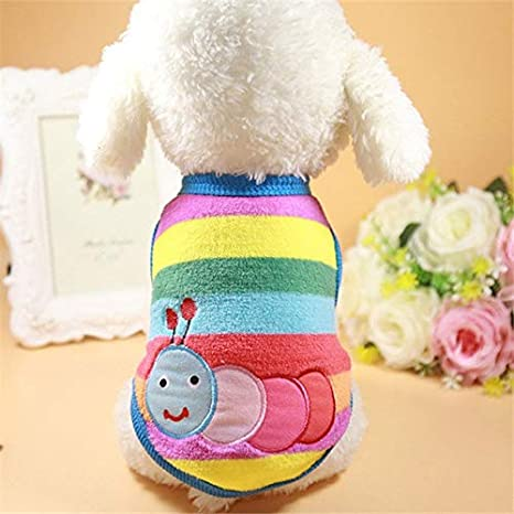 Buy Veena Cute Dog Clothes Winter Pet Clothes For Small Dogs Coat