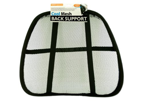 Mesh Back Support Rest - Case of 60 by bulk buys