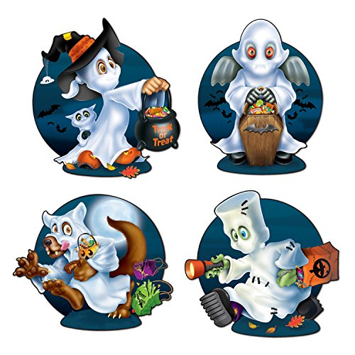 Ghost Kids Cutouts