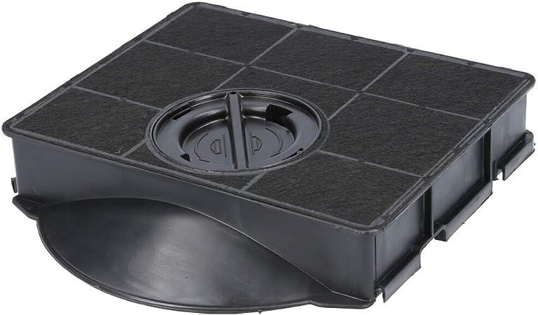 Filtro de carbón activo para campana extractora adecuado como alternativa para filtro de carbón 484000008581, para campana extractora de Bauknecht Whirlpool, etc. 1 Filter: Amazon.es: Hogar