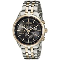Deals on Citizen Men's Eco-Drive Chronograph Watch with Date AT2146-59E
