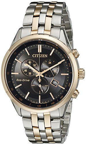 Citizen Men's Eco-Drive Chronograph Watch with Date, AT2146-59E ()
