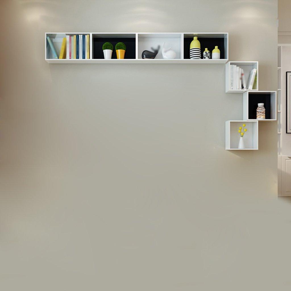 Hyun times 壁のシェルフ長方形と正方形のボックス壁の装飾 B07BVS4PXH