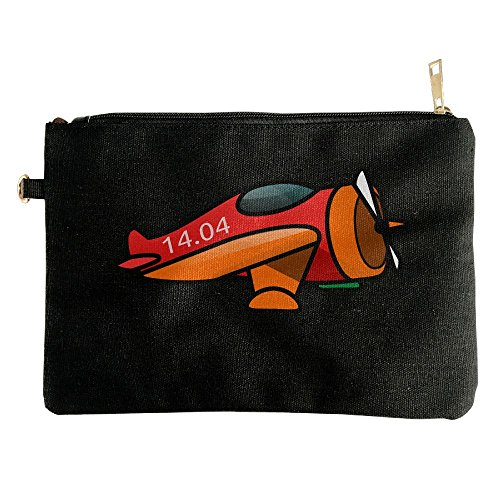 Cartoon Motor Plane Unisex Storage Makeup Case