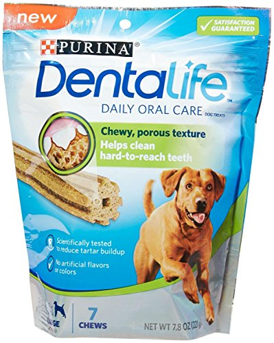 Purina Dentallife Daily Oral Care Dog Treats Large Chews - 7 Ct