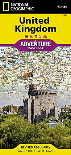 United Kingdom (National Geographic Adventure Map) ()