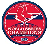 Boston Red Sox 2013 World Series Champions Round Wall Clock By Wincraft