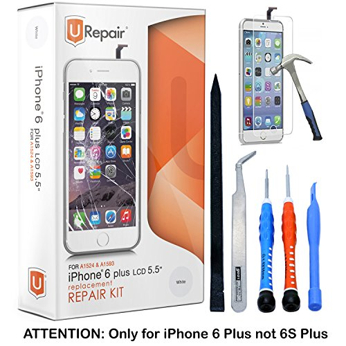 iphone screen repair kit iphone 6 plus screen replacement white lcd premium 3104