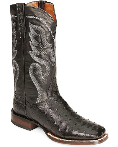 (Dan Post Mens Chandler Western Boots 10.5EE Black)