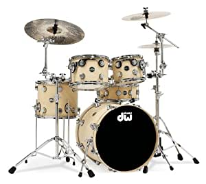 dw drums eco x kit with 20 inch kick drum natural bamboo finish cymbals not. Black Bedroom Furniture Sets. Home Design Ideas