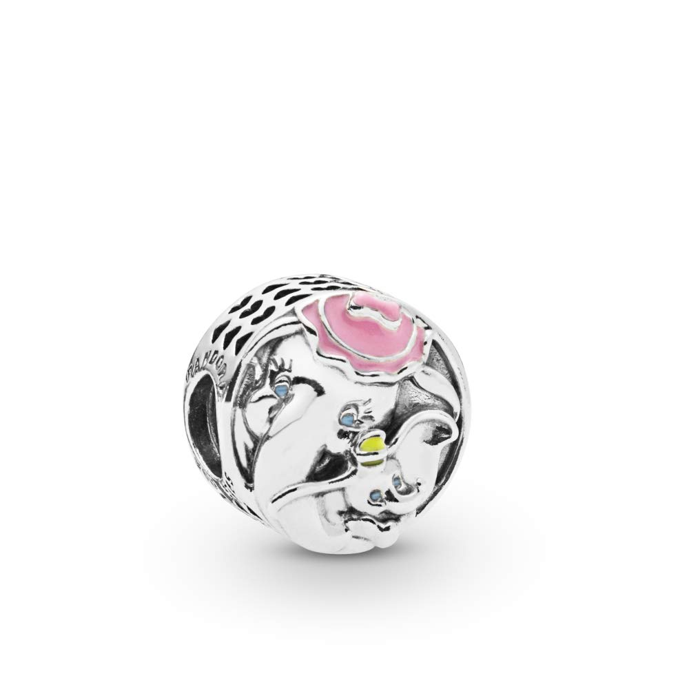 PANDORA Disney, Dumbo and Mrs. Jumbo 925 Sterling Silver Charm - 797850ENMX