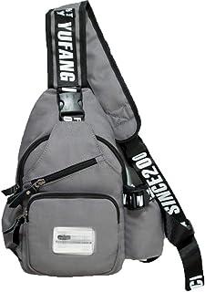 À L'extérieur Sling Bag Poitrine Épaule Sac à Dos Hommes,Anti-vol Crossbody Sacs pour Hommes Femmes Voyage Affaires Vélo Voyage Sports,Blue1-M