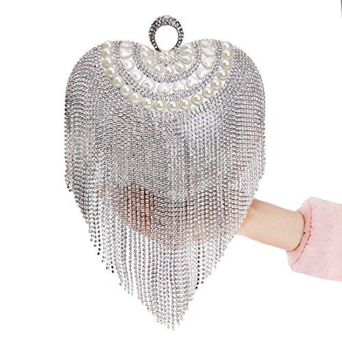 Femme Silver pour doré Or FUBULE Pochette ZnE7qAO