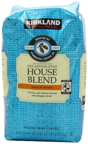 kirkland decaf coffee beans - 1