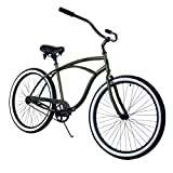 Zycle Fix Bike Classic Men Series Beach Cruiser Bicycle - ARMY COLOR