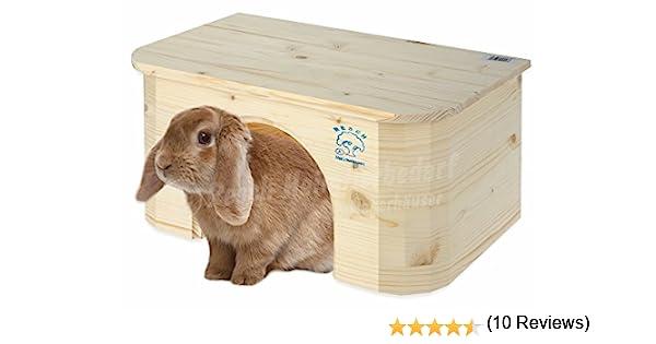 Resch N.º 16 Cabaña para conejo / Madera maciza de picea sin ...