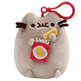 Pusheen Food Plush | Bag Keychain Clip - 5 Inch 4
