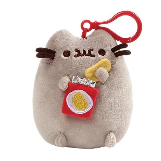 Pusheen Food Plush   Bag Keychain Clip - 5 Inch 1