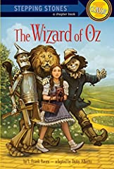 This classic Stepping Stone edition, brings the classic Wizard of Oz tale to first chapter book readers. Includes art from the original Wizard of Oz!