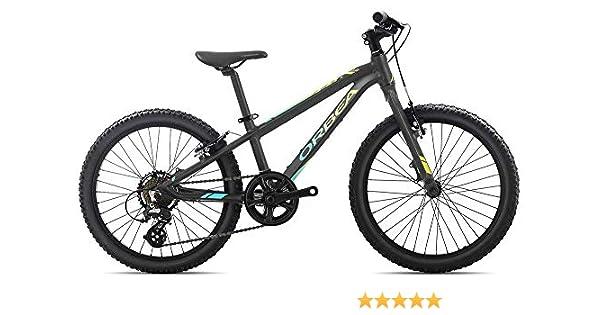 Orbea MX 20 Vélo pour Enfant VTT 7 Vitesses 20, Couleur : Noir ...