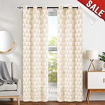 Amazon Com Light Filtering Window Curtains For Living