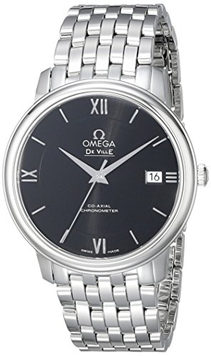 Omega Men's 42410372001001 Analog Display Swiss Automatic Silver Watch