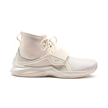 42bbe884026d Puma Men s Running Shoes Beige by Rihanna Fenty Trainer Hi Mens Trainer  White