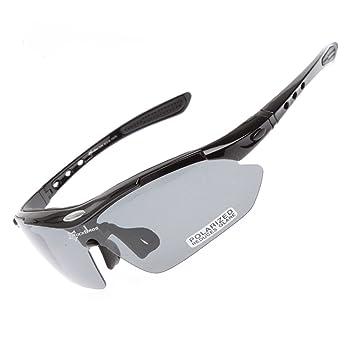 ROCKBROS Sunglasses Polarizada Goggles Gafas de Sol Gafas de Protección Gafas Deportivas Gafas de Ciclismo para Bike Bicicleta Bicycle Cycling CS010: ...