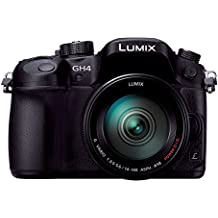 Panasonic LUMIX GH4 DMC-GH4H-K Mirrorless SLR, 14-140mm Lens Kit (Black) - International Version