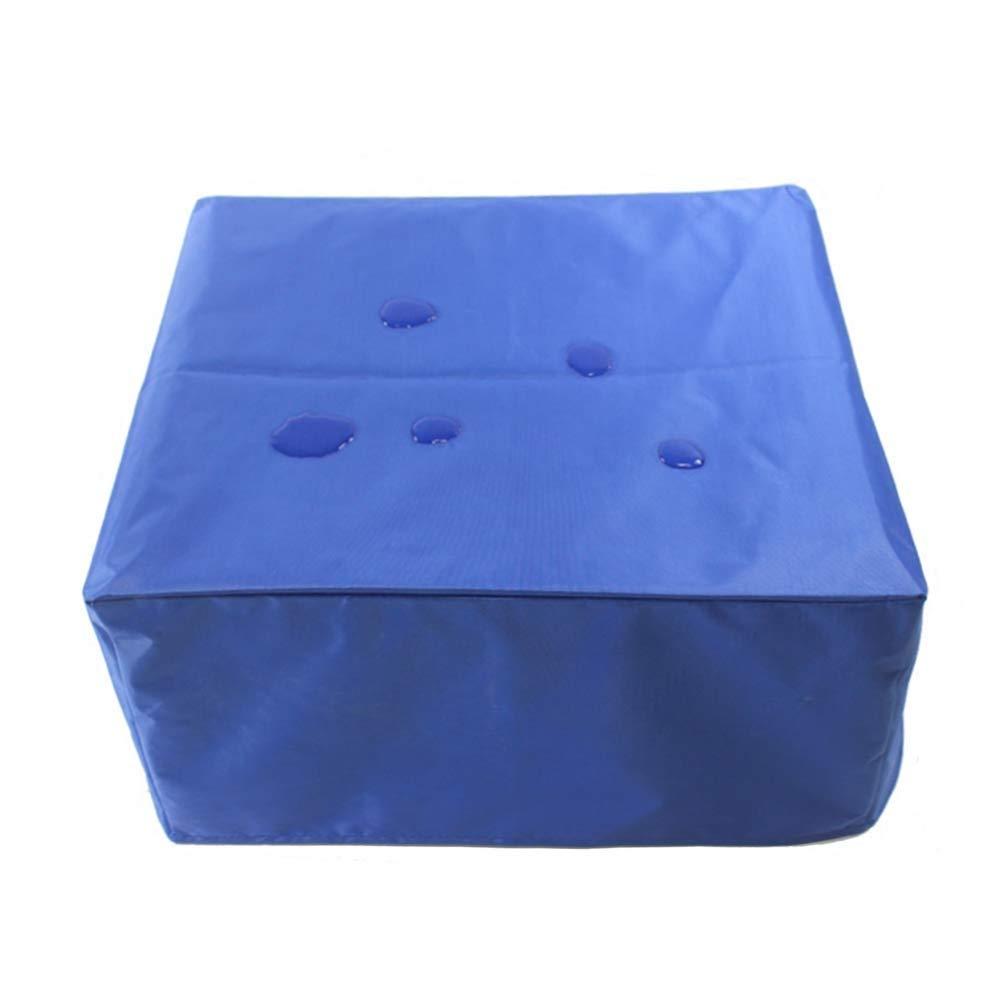 IDWOI Coperture per Mobili da Giardino Copertura per Tavolo Impermeabile A Prova di Vento Copertura Protettiva Rettangolare,Blu Size : 135X135X75cm