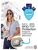 RFID Neck Wallet - The Original Travel Pouch with