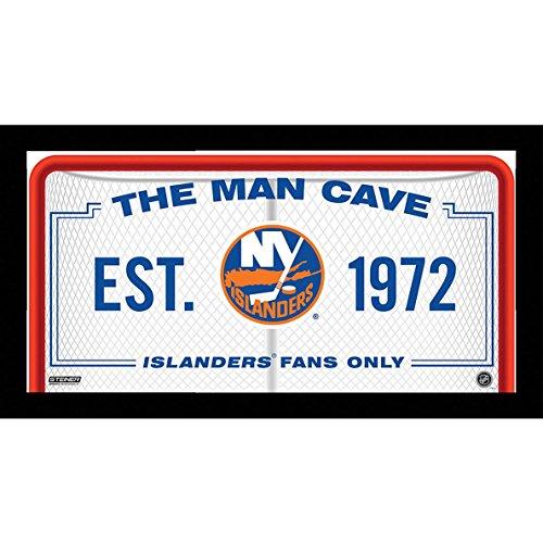 Steiner Sports NHL New York Islanders Man Cave Cartel 10x 20Foto enmarcada