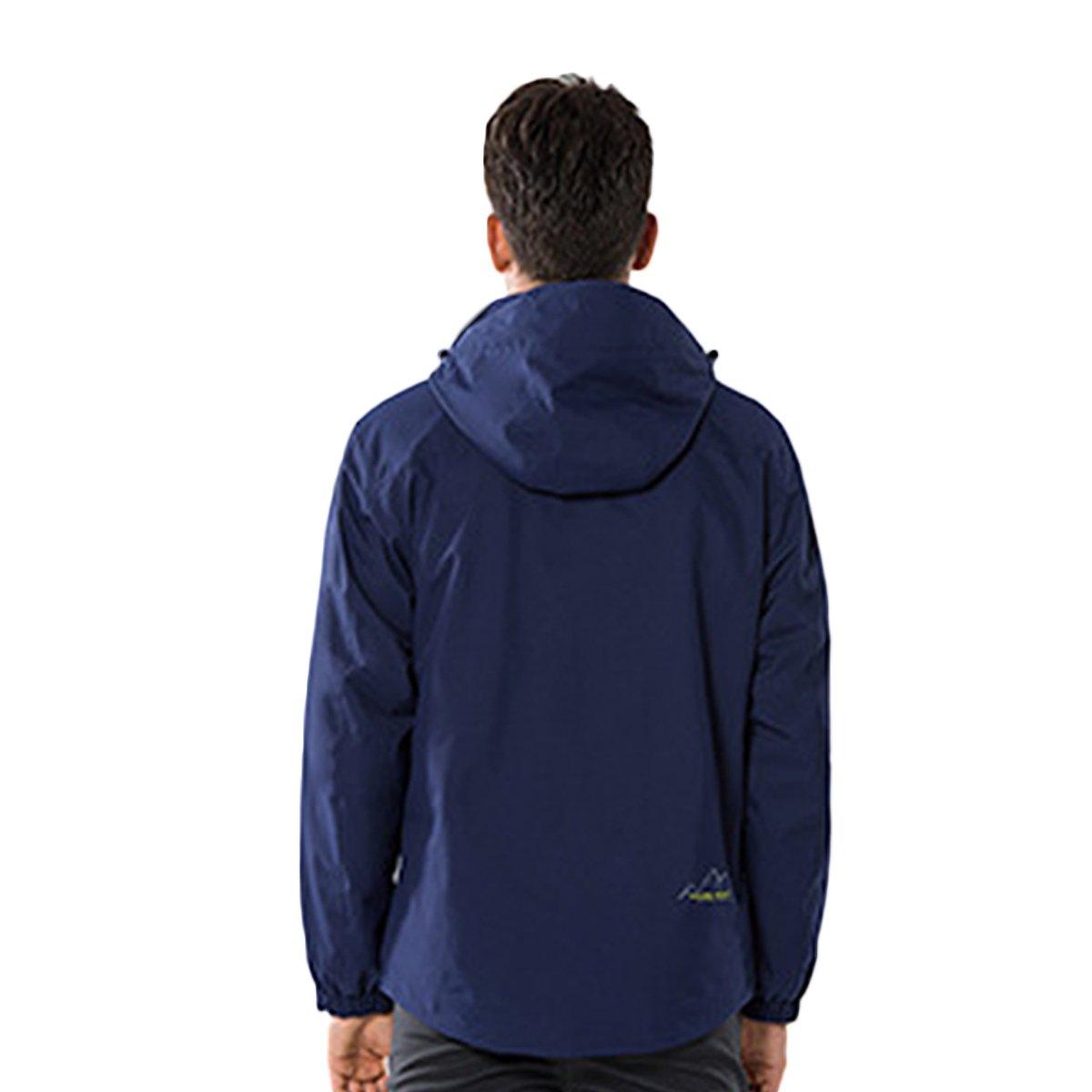 Amazon.com: dnstar Invierno de los hombres 3 en 1 chaqueta ...
