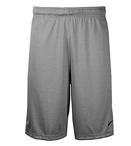 Nike Mens FLY 2.0 Training Shorts Dark Grey Heather/Black Size Large...